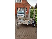 Sturdy Galvanised Car Trailer