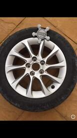 """Genuine 16"""" Audi Alloys and Tyres"""