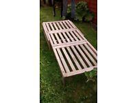 Garden chair/bed/lounger