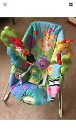 Fisher price discover and grow rainforest bouncer