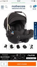 Brand new Nuna pipa suited collection car seat