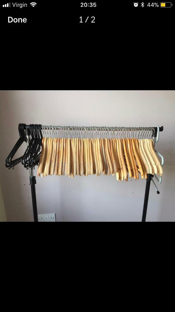 Job lot of hangers