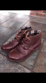 Clarks 9.5 Oxblood boots £25