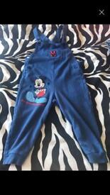 Mickey Mouse Dungarees