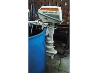 Johnson 6hp outboard motor