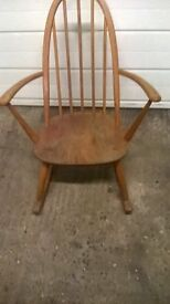 Vintage small rocking chair