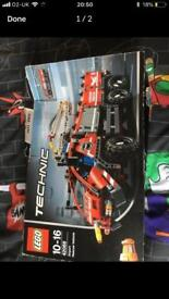 Lego technic airport rescue vehicle 2 in 1