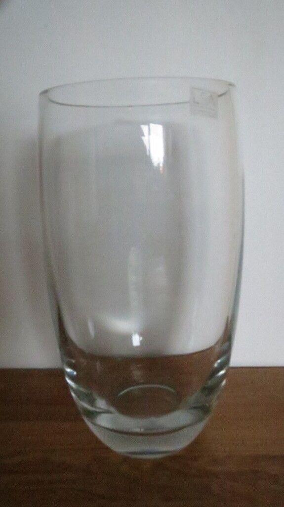 Lsa International Flower Barrel Vase Clear From John Lewis 25