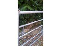 Galvanised Steel Gate