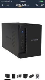 NETGEAR ReadyNAS 202 2-Bay Network Attached Storage 4TB (RN20222D-100NES)
