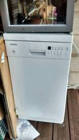 Siemens slimline dishwasher, spares or repairs