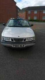 Saab 900 se turbo 1996 looks great, selling spares or repair