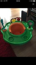 Baby bumbo and activity tray