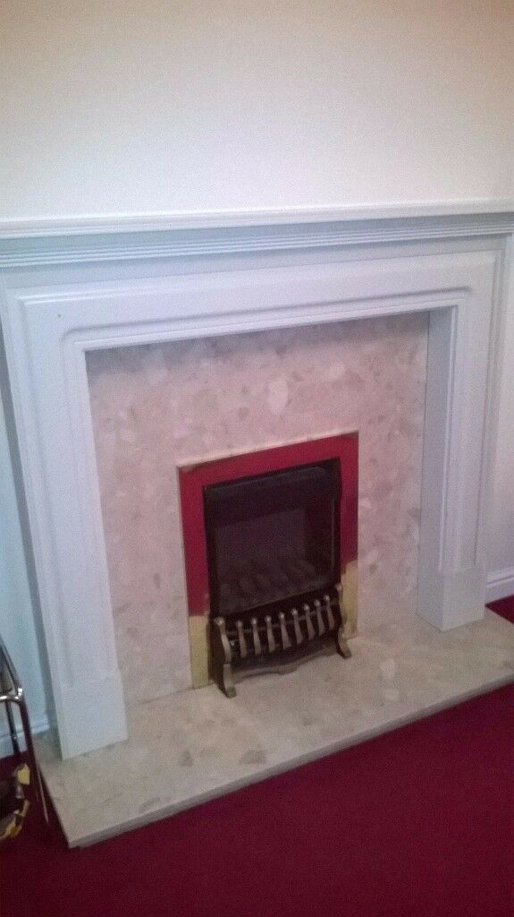 Gas Fireplace Surround Set (excluding the gas fire insert)