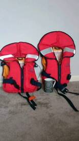 2 children's life jackets £15 each