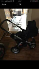 Maxi cosi mura pushchair baby toddler infant including adapters