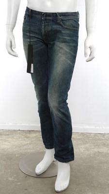 NICOLAS ANDREAS TARALIS Mens JETHRO Blue Straight Slim Leg Jeans Pants Denim 31