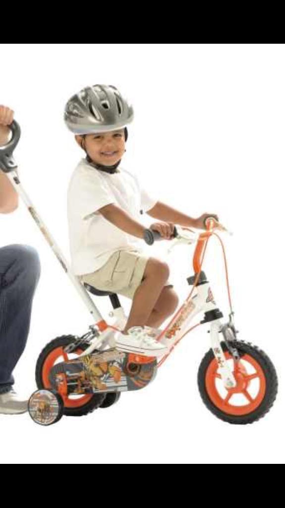 Steering wheel boys bike