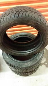 (114) Pneus d'Hiver - Winter Tires 225-50-17 Goodyear RunFlat 8/32