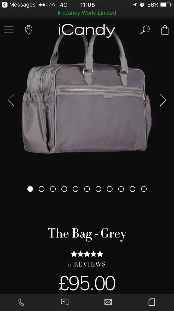 Grey icandy bag