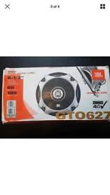Brand new JBL GTO627 6.5 inch speakers