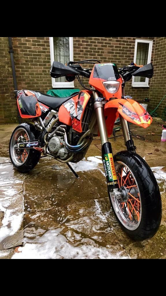 KTM EXC 450 2002 Supermoto motorbike | in Wimborne, Dorset | Gumtree