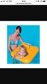 Baby float swimming aid