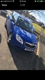 SKODA FABIA 2 LOW MILES LONG MOT PETROL