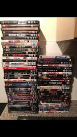 Selection of dvds