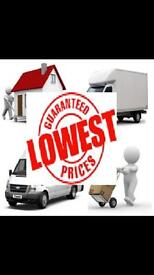 URGENT SHORT NOTICE NATIONWIDE MAN&LUTON VAN REMOVAL OFFICE/PIANO MOVERS/BIKE/COURIER/DUMP/RUBBISH
