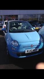 🌸REDUCED🌸fiat 500 1.2 lounge