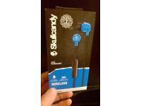 skullcandy bluetooth earphones with mic