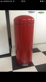 Brabantia Red Retro Kitchen Bin