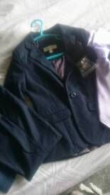 Boys suit, Victoria primary blazer Adidas trainers