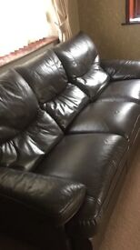3+2+1 seater leather suite