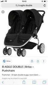 Brand new!!!! Britax b agile double