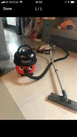 Henry hoover red industrial