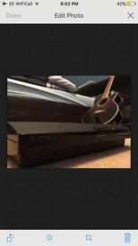 Playstation 3 Slim 120gb Console With Gamepad And Seven Great Games