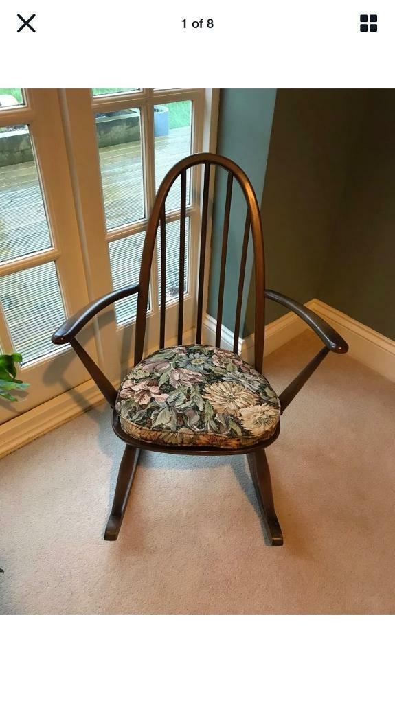 Ercol Rocking Chair Original Cushion 1960 Model 2056
