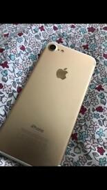 Iphone 7 gold 32gb unlocked