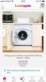 Brand new washing machine and Dfs Sofa