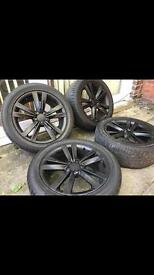 Golf alloys genuine seat cupra fr alloy wheels vw tyres