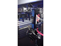 Intel i7 6700K 4 GHz quad core processor + Gigabyte GAH110M-S2H motherboard + cooler bundle