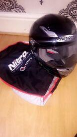 NITRO R RACING MOTORBIKE HELMET