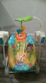 Fisher Price swing chair! Immaculate condition!