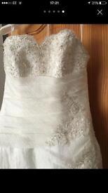 Mori Lee wedding dress size 10-12
