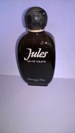 Jules Eau De Toilette rare vintage 1980's