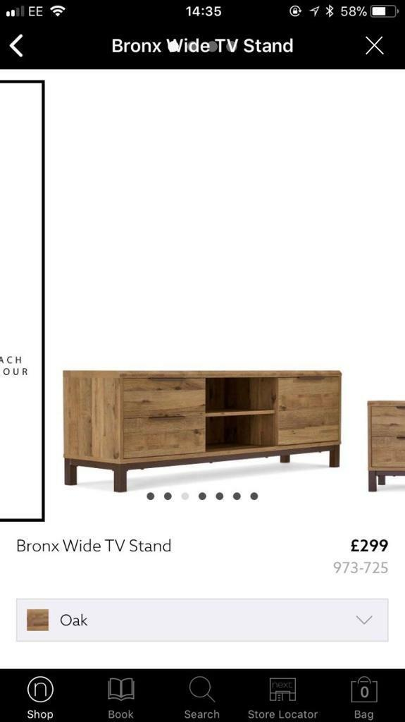 check out 794fa e61fb Next Bronx Wide TV Unit and Coffee Tables | in Finedon, Northamptonshire |  Gumtree