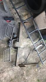Ladder and step + tow bar Vauxhall movono