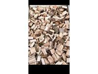 Cut dried seasoned hardwood logs/firewood